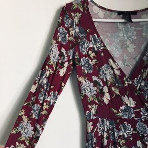 Only used once floral dress